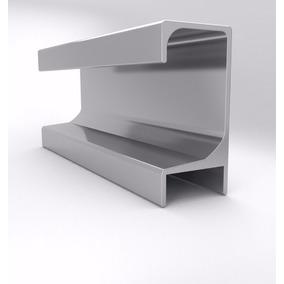 Perfil Tirador C Aluminio Para Aplicar Mueble Casa 3 Metros