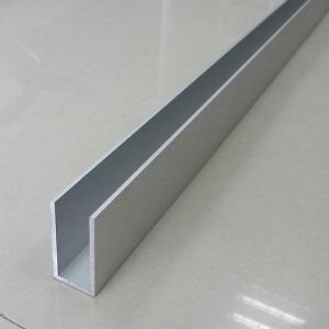 Perfil u aluminio 1 2x3 8x1 2 1 27cm x 9 52 x 1 27cm c - Perfil de aluminio en u ...