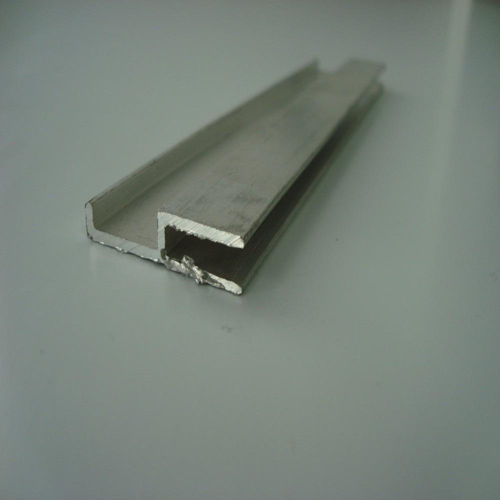 Perfil u arremate alum nio barra 6mts r 43 12 em - Perfil aluminio u ...