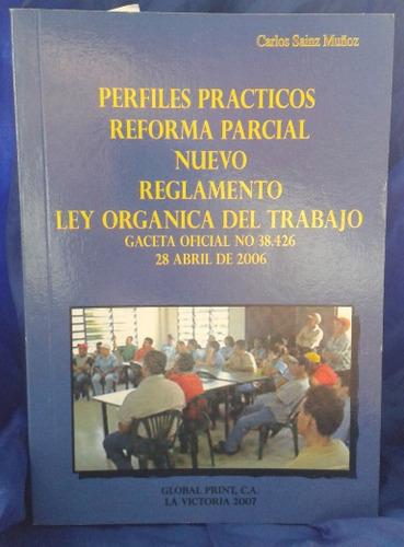 perfiles prácticos reforma parcial nuevo reglamento ( usado)