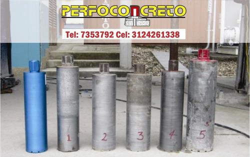 perforacion concreto sacanucleos bogota