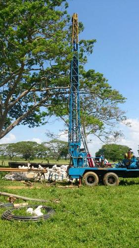perforación pozos de agua y mantenimiento
