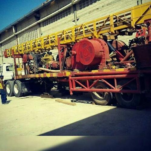 perforacion y mantenimiento de pozo de agua
