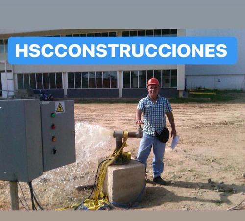 perforación y mantenimiento de pozos de agua profundos