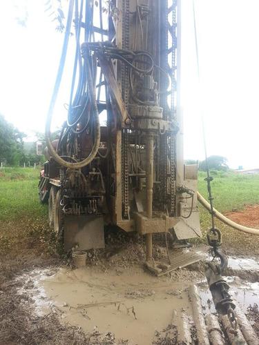 perforación y mantenimiento de pozos profundos de agua.