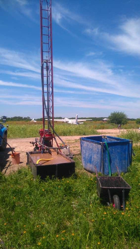 perforaciones bombas sumergibles agua potable leloir itu