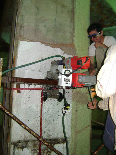 perforaciones coredrill  /  proyectos estructurales