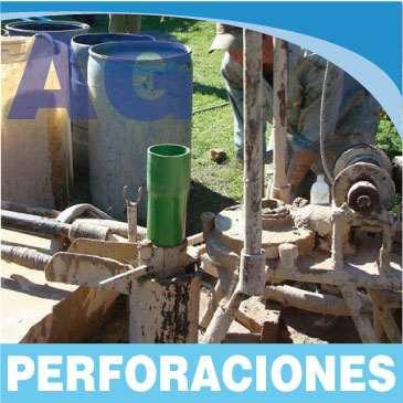 perforaciones de agua bombas sumergibles depresion de napas