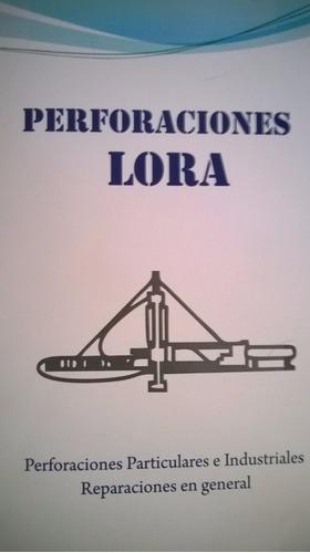 perforaciones de agua - lora