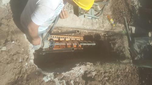 perforaciones de máquina tunelera y albañileria en general