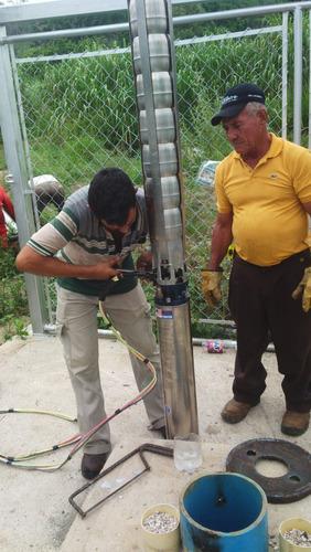 perforaciones de pozos profundos, mantenimientos y servicios