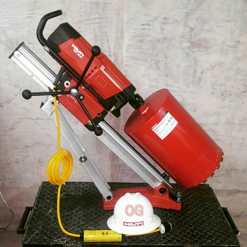 perforaciones en concreto con core drill hilti