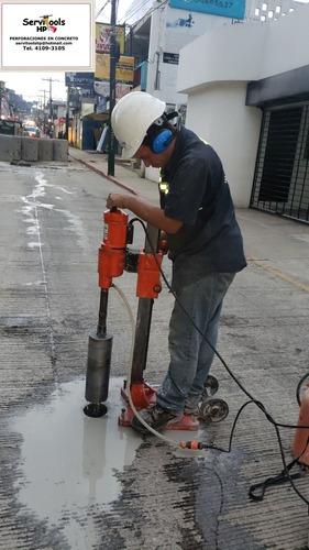 perforaciones en concreto sacanucleos guatemala