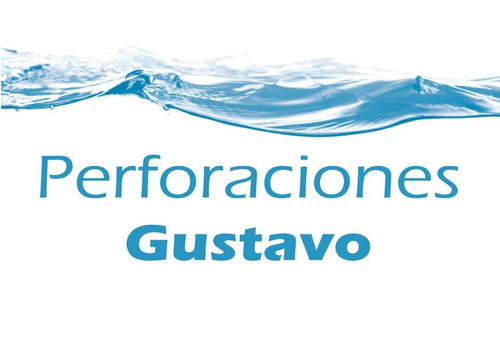 perforaciones gustavo -extracción de agua potable-