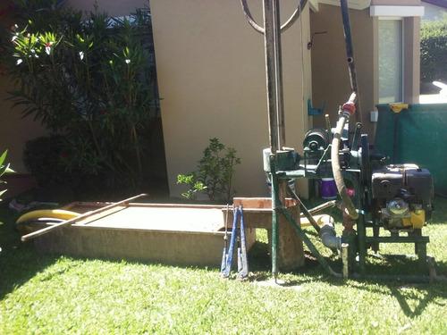 perforaciones pozo agua bomba sumergible zona norte