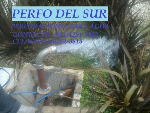 perforaciones pozo agua y bombas sumergibles