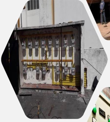 perforaciones, sistema de riego por aspersión, electricidad