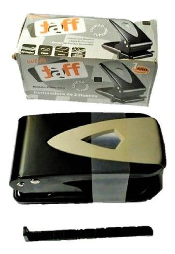 perforador para 2 huecos 7mm y 8 cm, capacidad para 60h