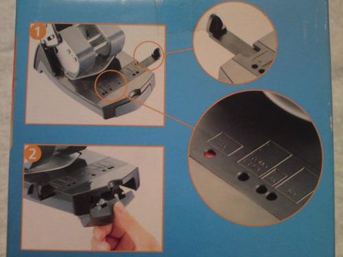 perforadora 2 orificios a 8cm papel 30 hojas mapped
