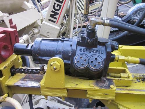 perforadora coredril seminueva airmobil 432 alto torque