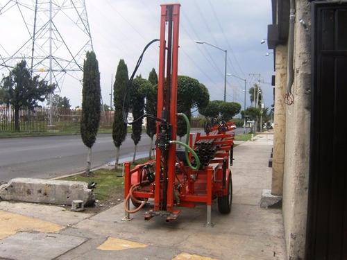 perforadora de pozos hidráulica hasta 120 mts.