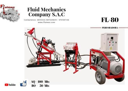 perforadora diamantina fl-80