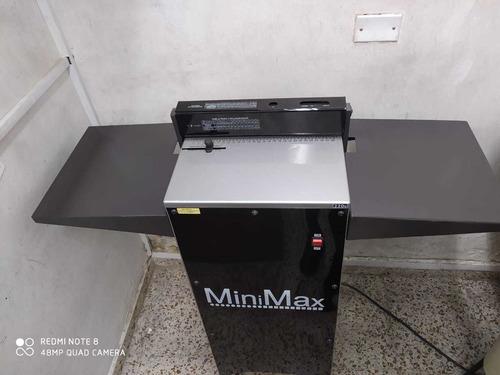 perforadora espiraladora electrica minimax multi matriz