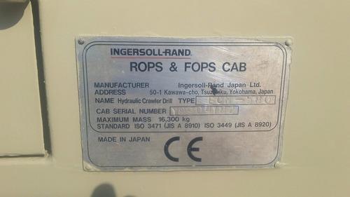 perforadora hidrotrack ingersoll rand ecm-580 encabinado