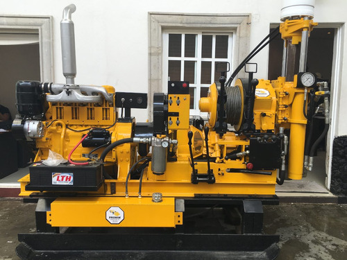 perforadora longyear 38 mecanica suelo geotecnia long year