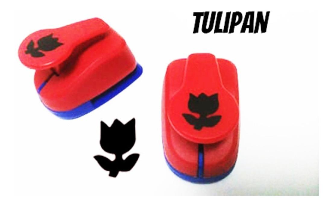 Perforadora goma eva Troquel Tulipán 3.7 cm para manualidades