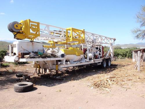 perforadora para pozos de agua 3000 lista para trabajar