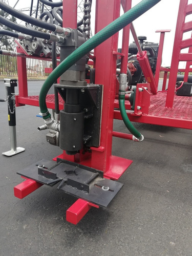 perforadora para pozos de agua hasta 120mts 8 pulgadas