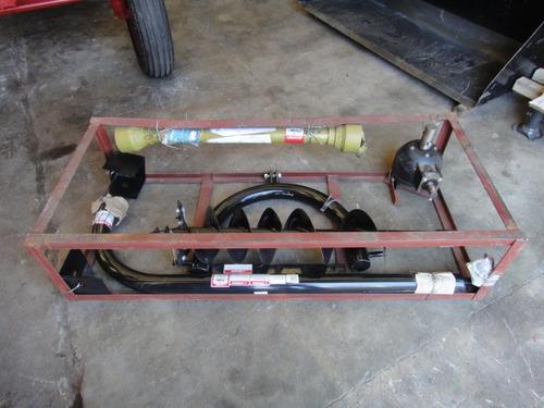 perforadora - pocera para tractor con levante hidráulico