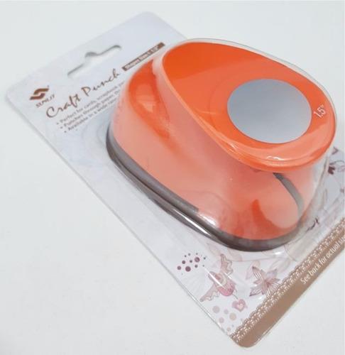 perforadora sacabocado circular 3,8 cm candybar circulo