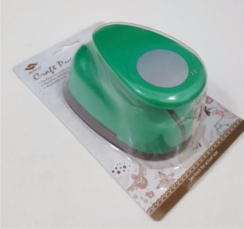 perforadora sacabocado circular 6,3 cm candybar circulo