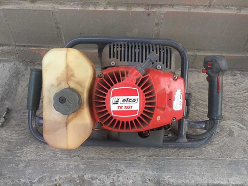 perforadora, sembradora,abre huecos jardin efco tr 1551