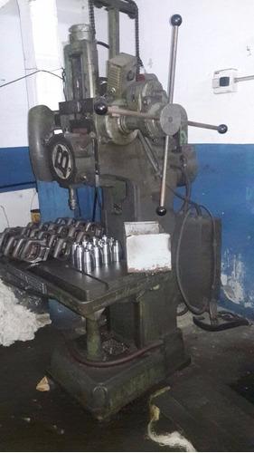 perforadora taladro y roscadora con cabezal giratorio