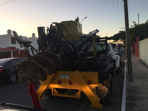 perforadora texoma camión ford f800