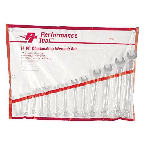 performance herramienta w1114 sae set llave combinación , 1