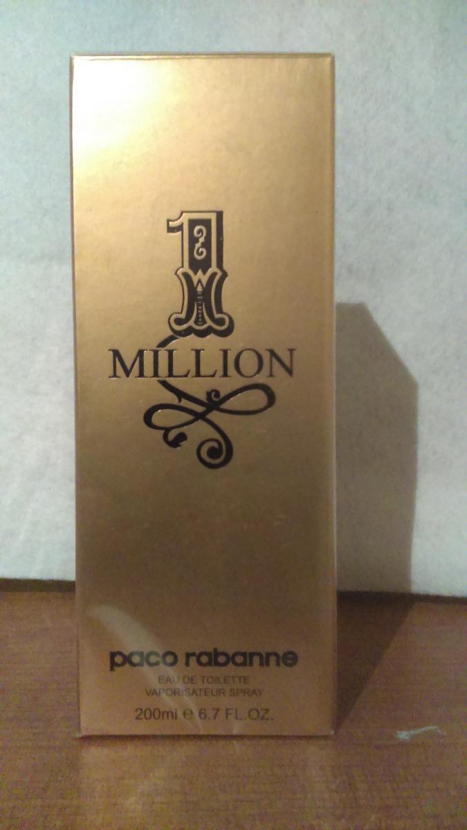 perfume 1 million by paco rabanne caballero 200 ml 945. Black Bedroom Furniture Sets. Home Design Ideas