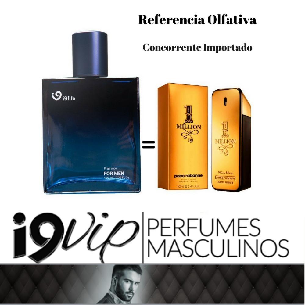 perfume 1 million i9 life 100ml importado masculino original. Carregando  zoom. f5fe6e61776