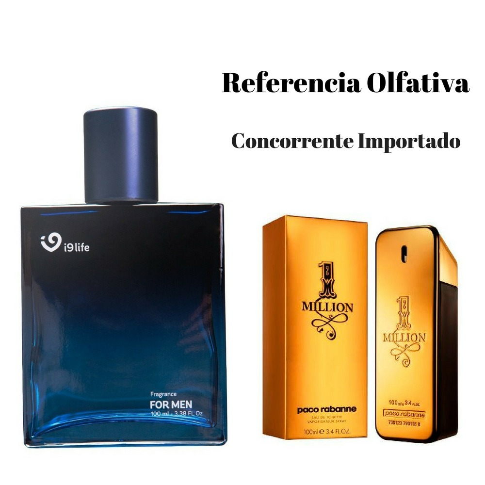 Perfume 1 Million Original I9 Life Lançamento Mais Barato - R  139 ... 047fff47010