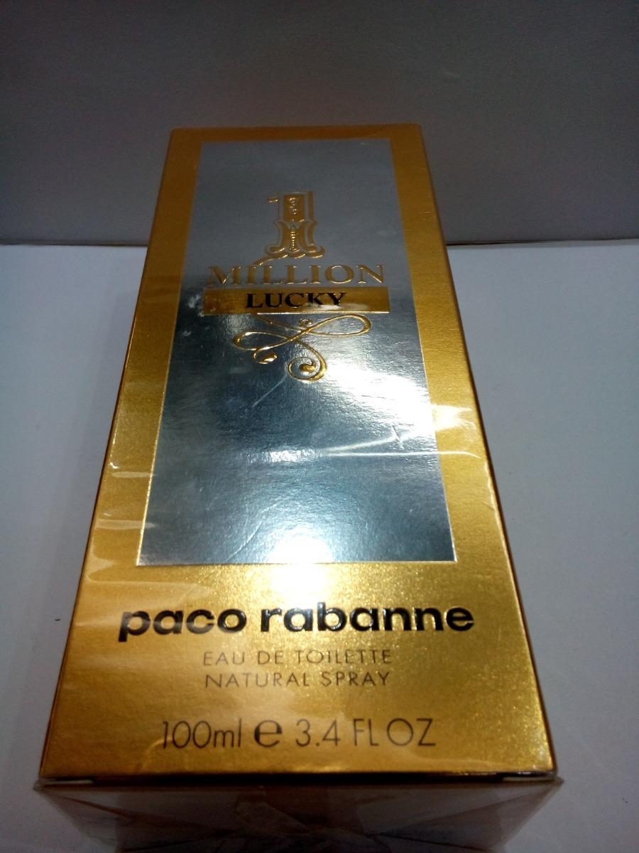 e20643cfa perfume 1 one million lucky paco rabanne 100 ml masculino. Carregando zoom.