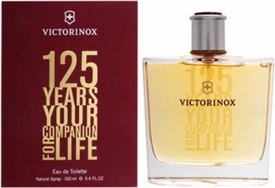 perfume 125 years your companion life victorinox edt 100ml
