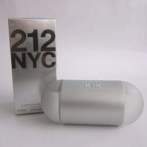 perfume 212 carolina herrera mujer tradicional 100 ml origin