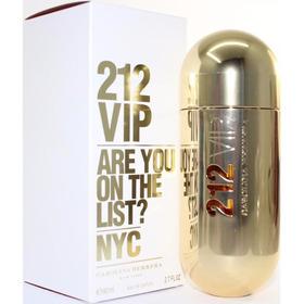 Perfume 212 Carolina Herrera Vip 80ml Original
