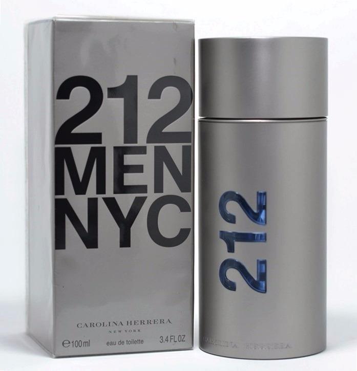 508ca67229 Perfume 212 Men 100ml Carolina Herrera 100% Original Lacrado - R ...