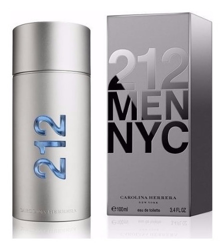 perfume 212 men -- carolina herrera -- 100ml -- original