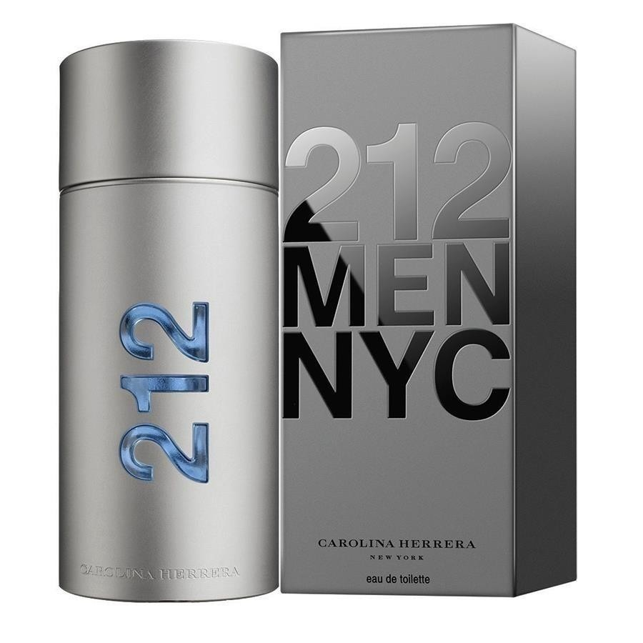 ba4b1760fd perfume 212 men carolina herrera 100ml - original e lacrado. Carregando  zoom.
