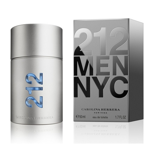 perfume 212 men nyc 50ml carolina herrera